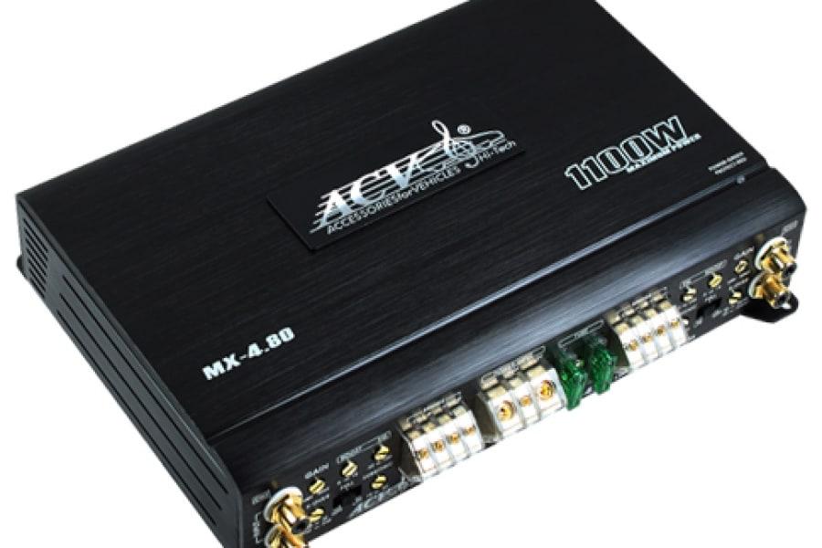 Автомобильный усилитель ACV MX-4.80 - фото 4