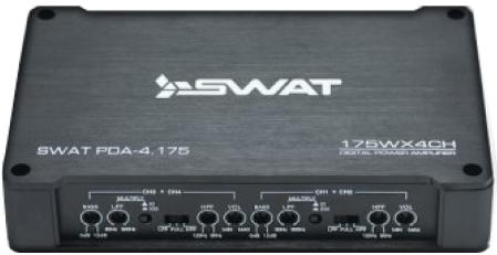 Автомобильный усилитель Swat PDA 4.175 - фото 3