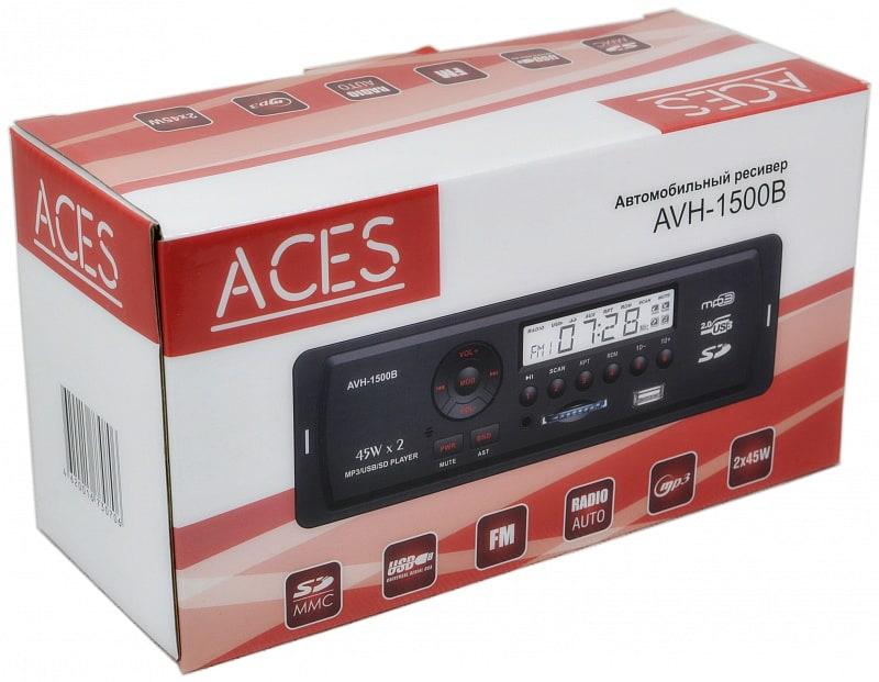 Автомагнитола Aces AVH-1501B - фото 5