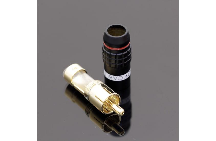 Tchernov cable rca plug standard 2 white