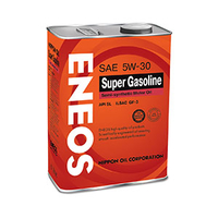 Моторное масло Eneos Super Gasoline SL 5W-30, 4 л