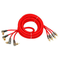 Межблочный кабель Ural 4RCA-PB5M
