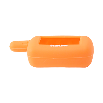 Силиконовый чехол на StarLine A4/A6/A8/A9/V5/24v (оранжевый)
