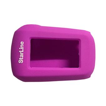 Силиконовый чехол на StarLine A62/A64/A92/A94 (фиолетовый)