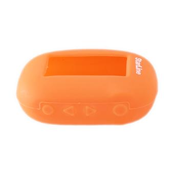 Силиконовый чехол на StarLine B62/B64/B92/B94 (оранжевый)