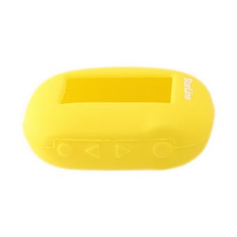 Силиконовый чехол на StarLine B62/B64/B92/B94 (жёлтый)