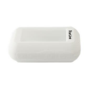Силиконовый чехол на StarLine E60/E61/E90/E91 (белый)