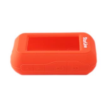 Силиконовый чехол на StarLine E60/E61/E90/E91 (красный)