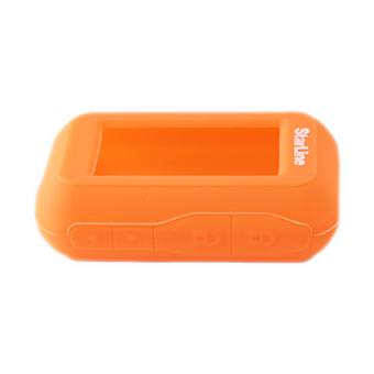 Защитный чехол для брелка StarLine E60/E61/E63/E66/E90/E91/E93/E96 (оранжевый)