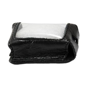 Кожаный чехол на Scher-Khan Magicar A/B (чёрный, кожа)