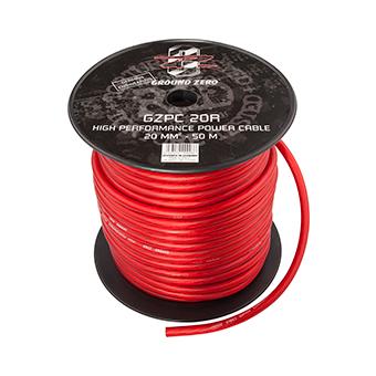 Силовой кабель Ground Zero GZPC 20R