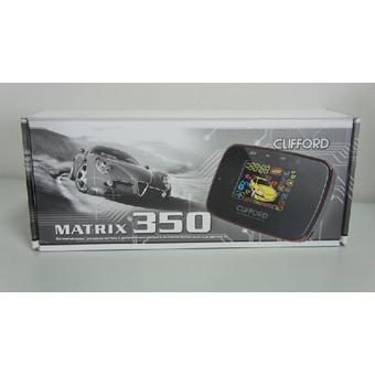 Автосигнализация с автозапуском Clifford Matrix 350x