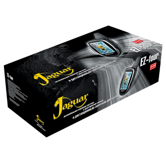 Автосигнализация с автозапуском Jaguar EZ-FOUR