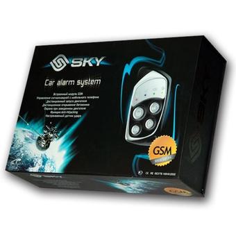 Автосигнализация с автозапуском SKY GSM