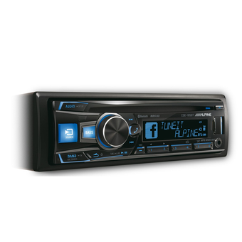 CD/MP3-ресивер Alpine CDE-185BT