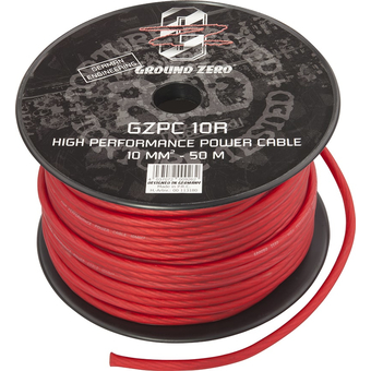 Силовой кабель Ground Zero GZPC 10R