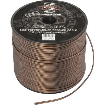 Акустический кабель Ground Zero GZSC 2-0.75