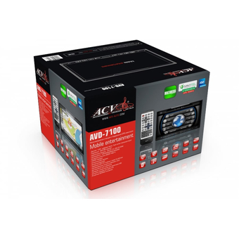 Мультимедийный ресивер ACV AVD-7100