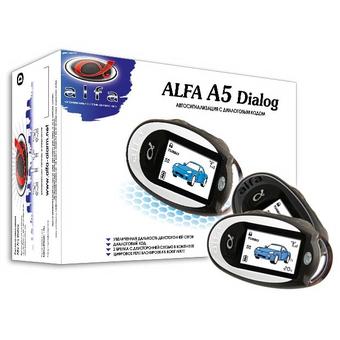 Автосигнализация с обратной связью Alfa A-5 Dialog