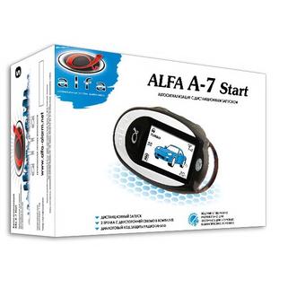 Автосигнализация с автозапуском Alfa A-7 Start