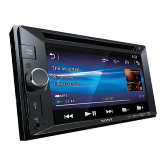 Мультимедийный ресивер Sony XAV-65