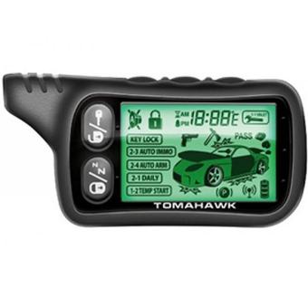Автосигнализация с автозапуском Tomahawk TZ-9030