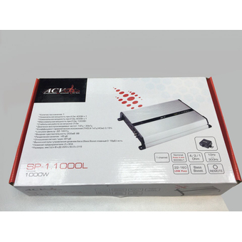 Одноканальный усилитель ACV SP-1.1000L