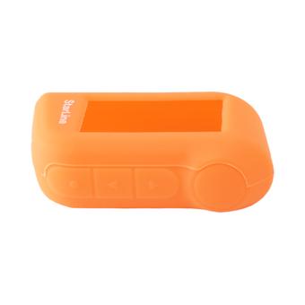 Силиконовый чехол на StarLine A63/A93 (оранжевый)