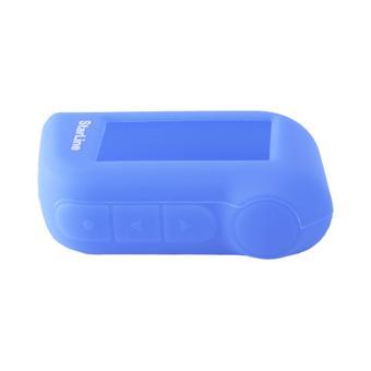 Силиконовый чехол на StarLine A63/A93 (синий)