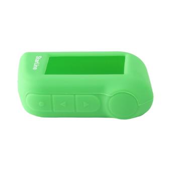 Силиконовый чехол на StarLine A63/A93 (зелёный)