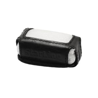 Кожаный чехол на StarLine A4/A6/A8/A9/V5/24v (чёрный, кожа)