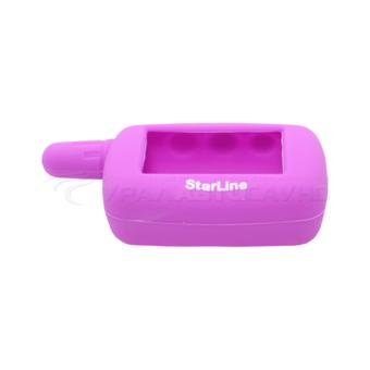 Защитный чехол для брелка StarLine A4/A6/A8/A9/V5/24v (фиолетовый)