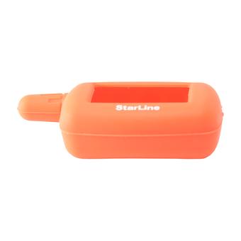 Силиконовый чехол на StarLine A4/A6/A8/A9/V5/24v (красный)