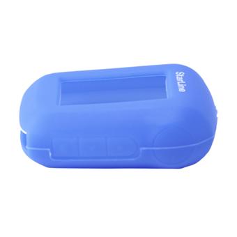 Силиконовый чехол на StarLine A62/A64/A92/A94 (синий)