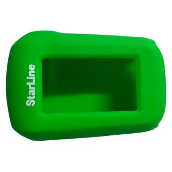 Силиконовый чехол на StarLine A62/A64/A92/A94 (зелёный)