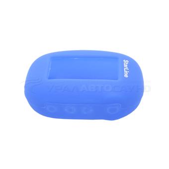 Силиконовый чехол на StarLine B62/B64/B92/B94 (синий)