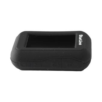 Силиконовый чехол на StarLine E60/E61/E90/E91 (чёрный)