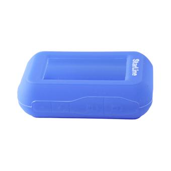 Силиконовый чехол на StarLine E60/E61/E90/E91 (синий)