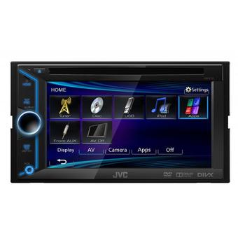Мультимедийный ресивер JVC KW-V10EE