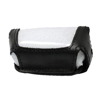 Защитный чехол для брелка Scher-Khan Magicar 5/6 (чёрный, кожа)