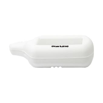Силиконовый чехол на StarLine B6/B9/A61/A91 (белый)