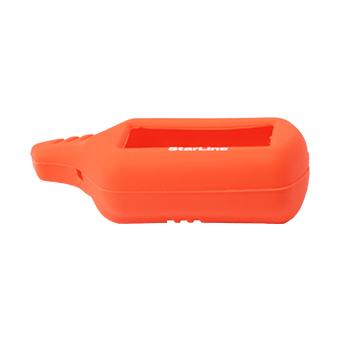 Силиконовый чехол на StarLine B6/B9/A61/A91 (красный)