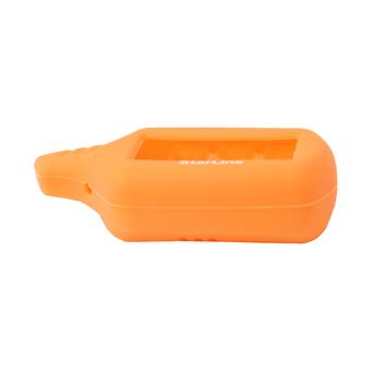 Силиконовый чехол на StarLine B6/B9/A61/A91 (оранжевый)
