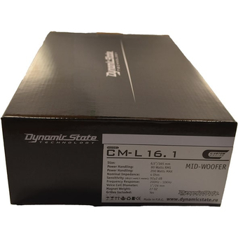НЧ/СЧ-динамик Dynamic State CM-L16.1
