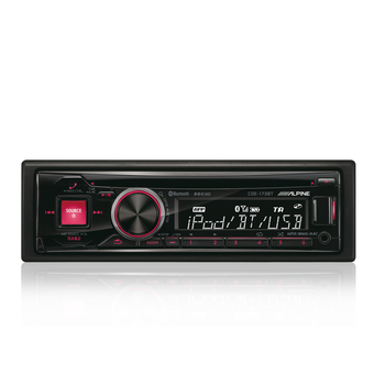 CD/MP3-ресивер Alpine CDE-173BT