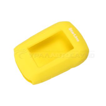 Защитный чехол для брелка StarLine A62/A64/A65/A92/A94/A95/T94 (жёлтый)