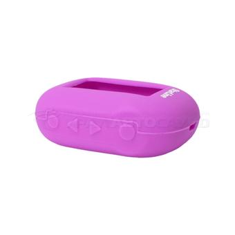 Силиконовый чехол на StarLine B62/B64/B92/B94 (фиолетовый)