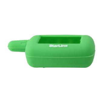 Силиконовый чехол на StarLine A4/A6/A8/A9/V5/24v (зелёный)
