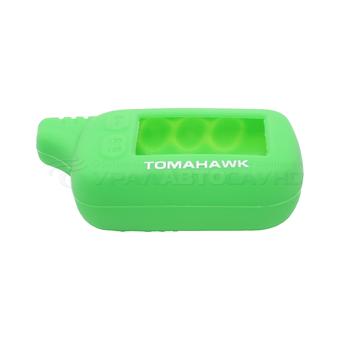 Силиконовый чехол на Tomahawk TZ-9030 (зелёный)
