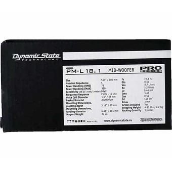 НЧ/СЧ-динамик Dynamic State PM-L18.1